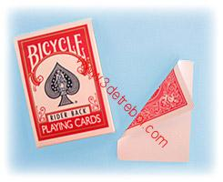 BICYCLE  BLANK FADES/ RED BACKS
