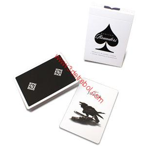 ROUNDERS PLAYING CARDS BY MADISON  BLAK