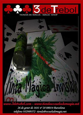 TINTA MAGICA INVISIBLE