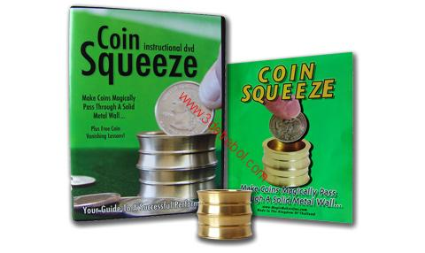 COIN SQUEEZE & DVD