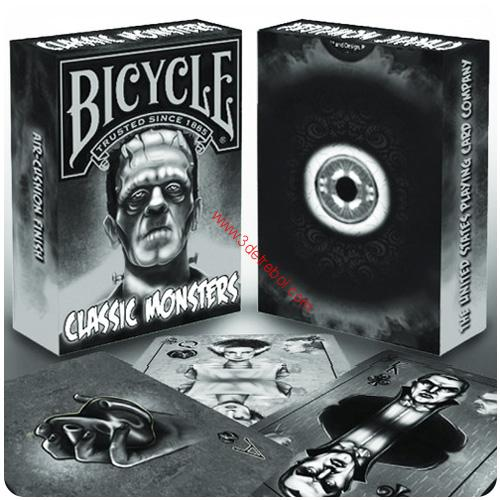 BICYCLE-CLASSIC MONSTERS