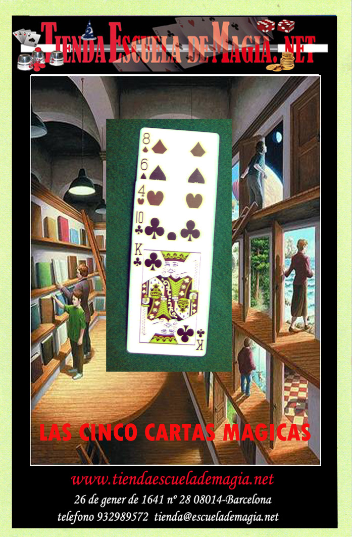 LAS CINCO CARTAS MAGICAS